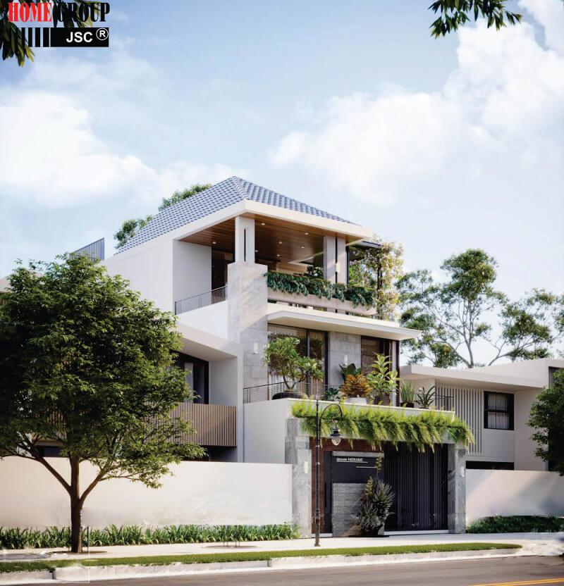 thiết kế nhà đẹp hội an